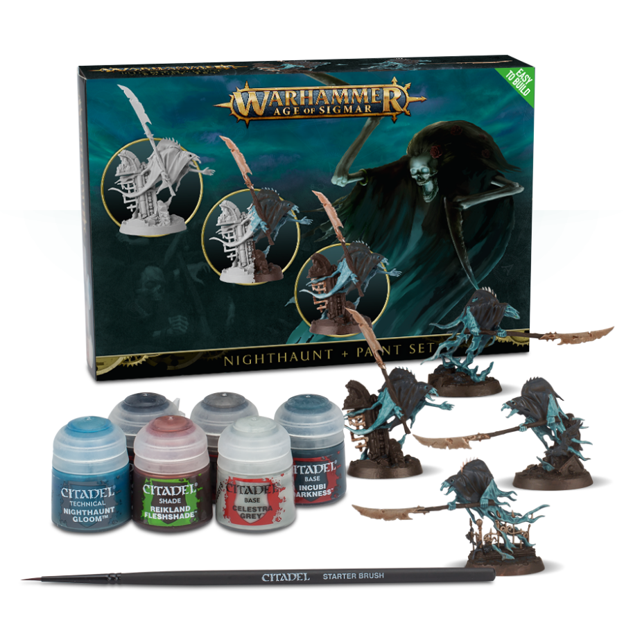 Warhammer Nighthaunt + Paint Set