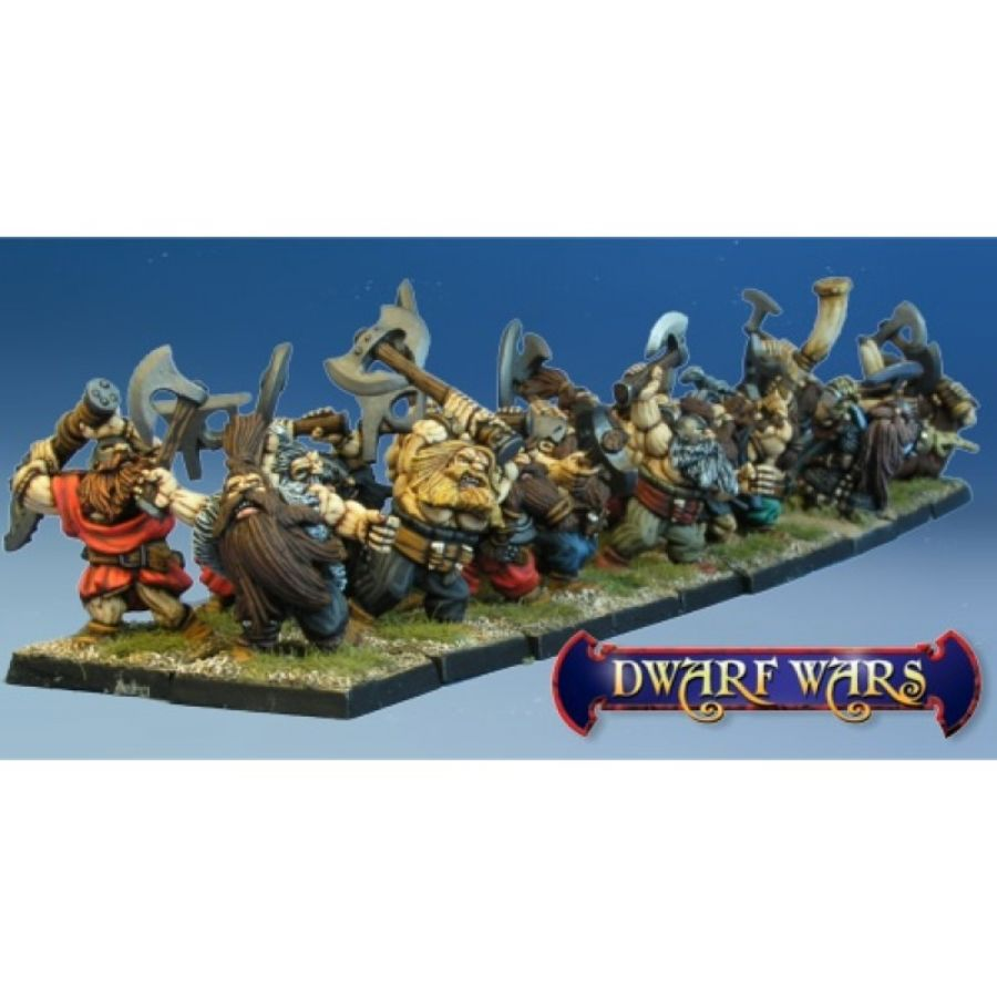 Dwarve Ax Regiment Command