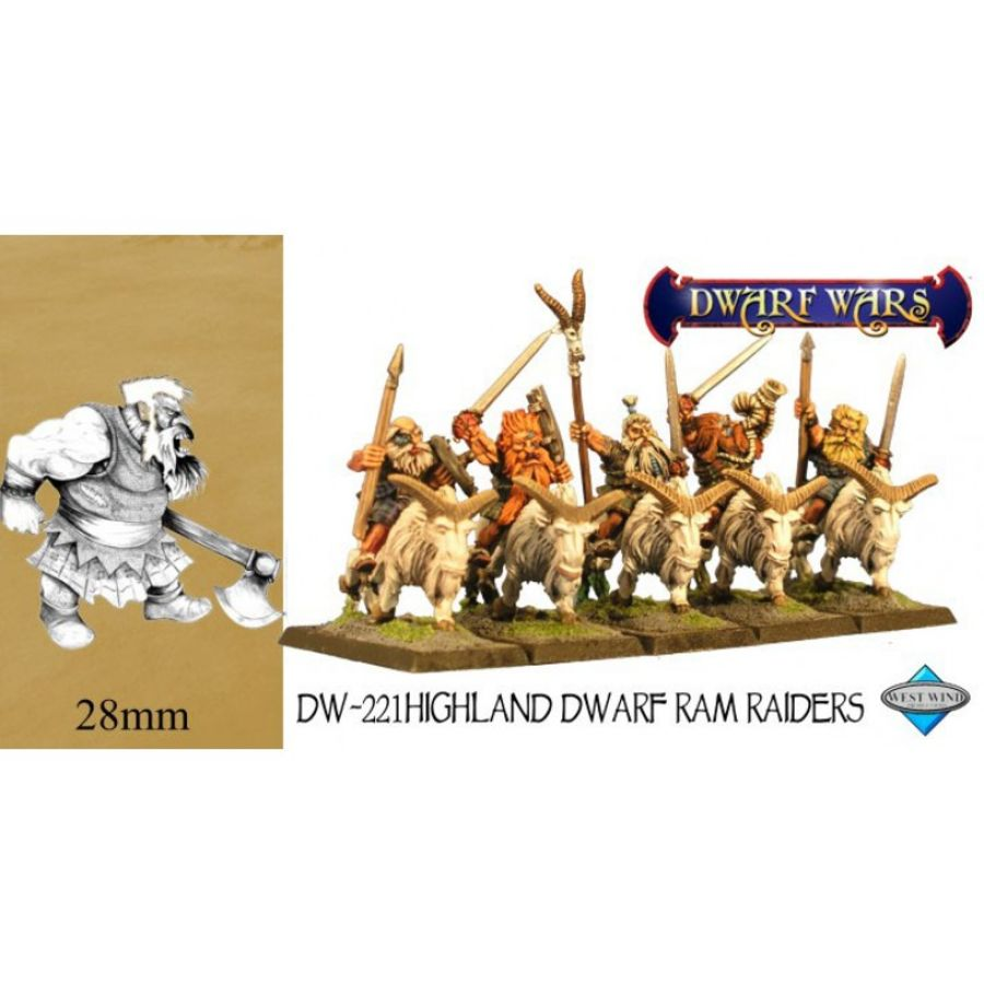 Dwarve Scots Cavalry Troops