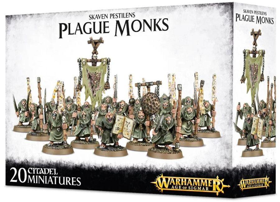 Skaven Pestilence Plague Monks