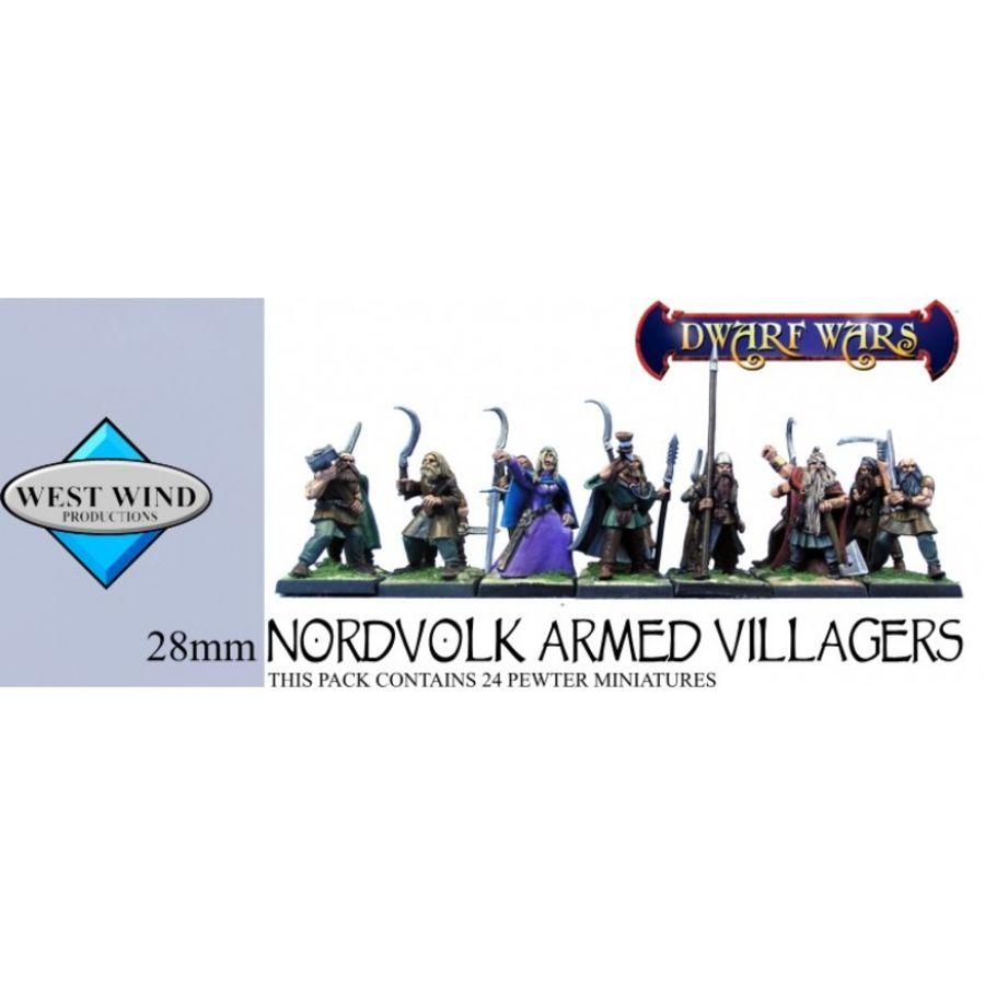 Nordvolk Armed Villagers