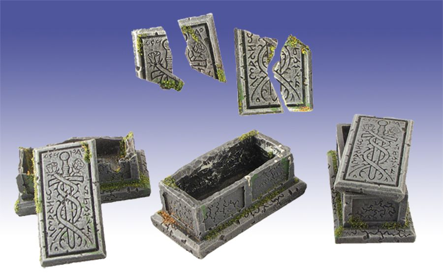 Unearthed Gothic Tombs