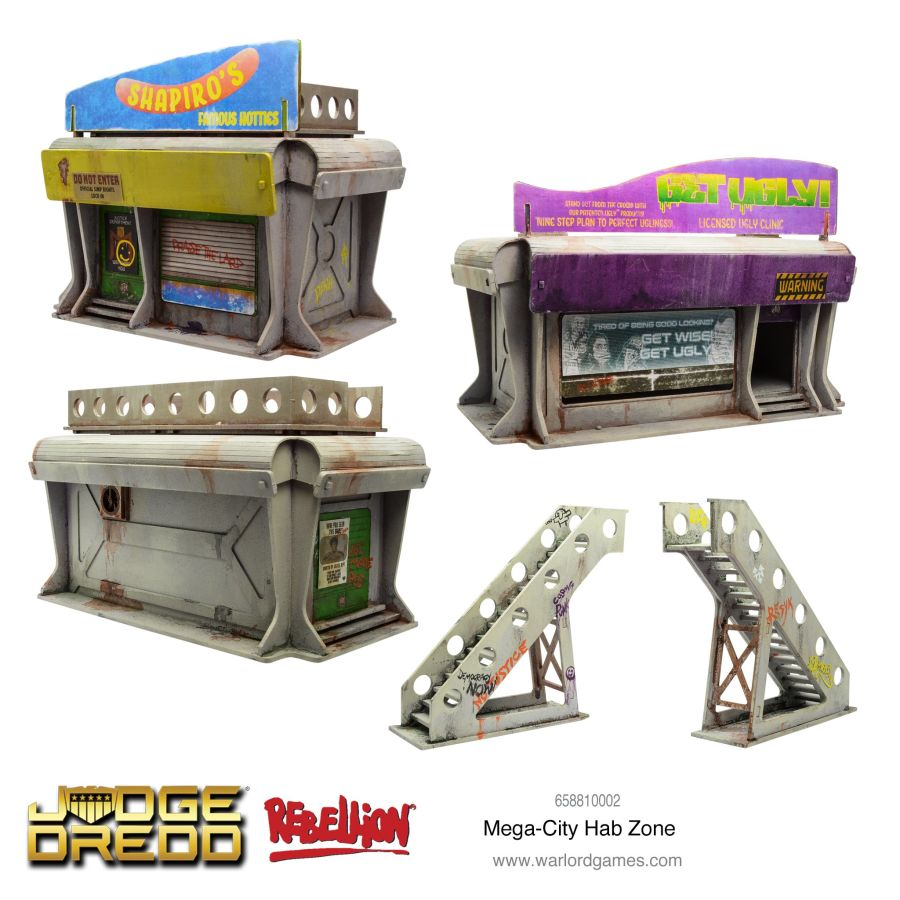 Mega-City Hab Zone Pack