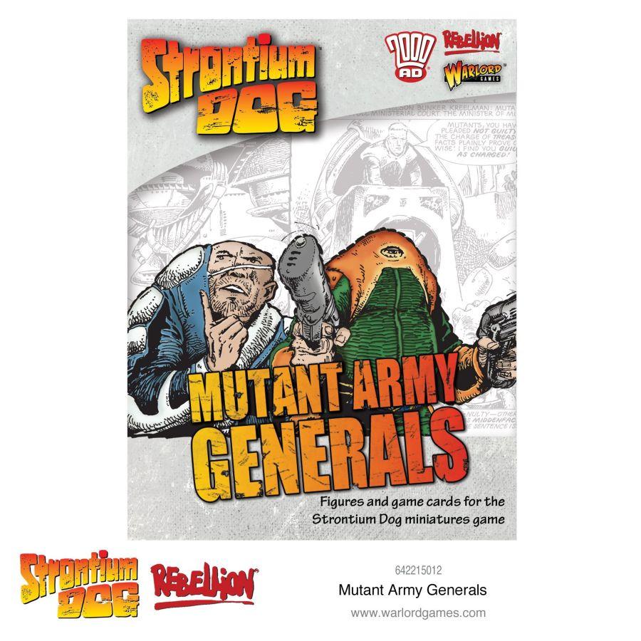 Strontium Dog: Mutant Army Generals