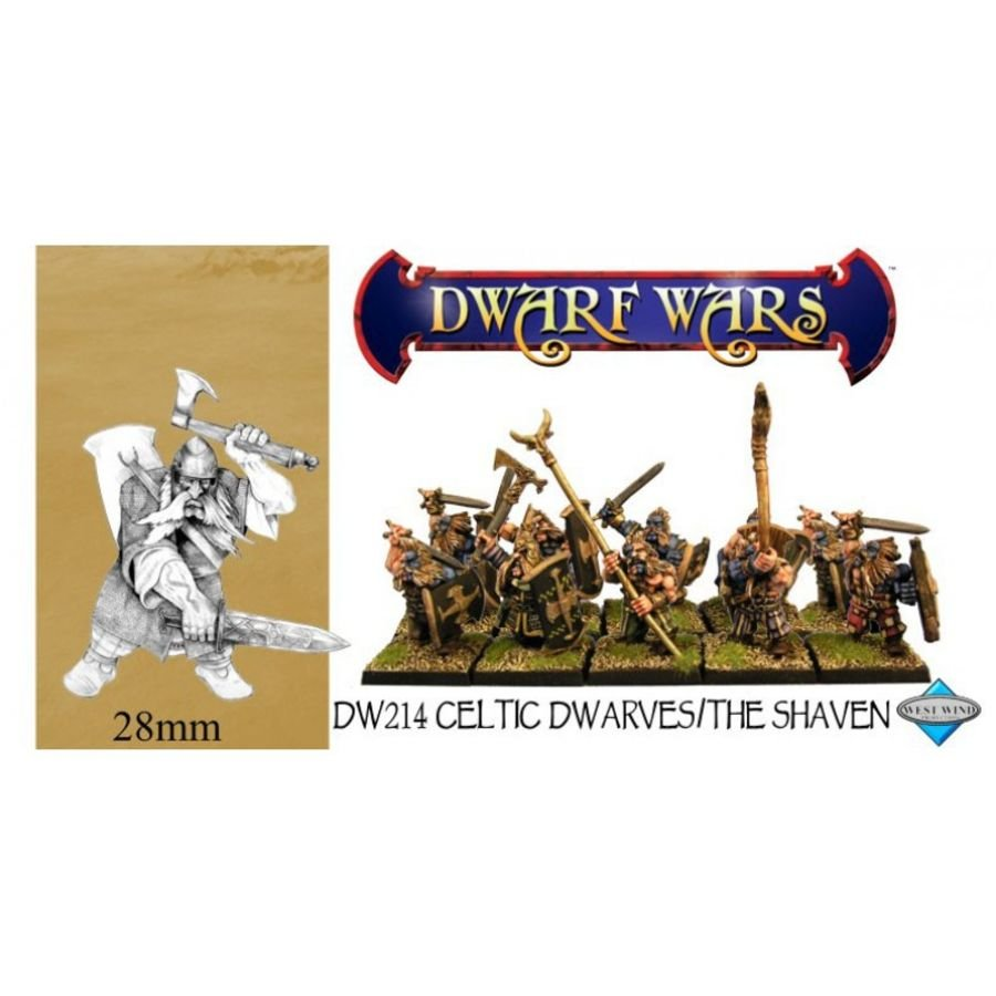 Dwarve Shaven Infantry