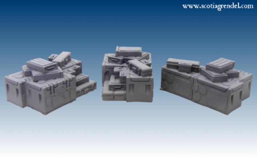 Ammo Boxes (3)