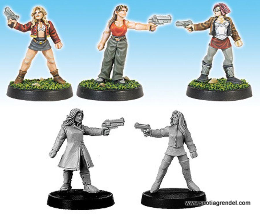 Militia - Females with Pistols