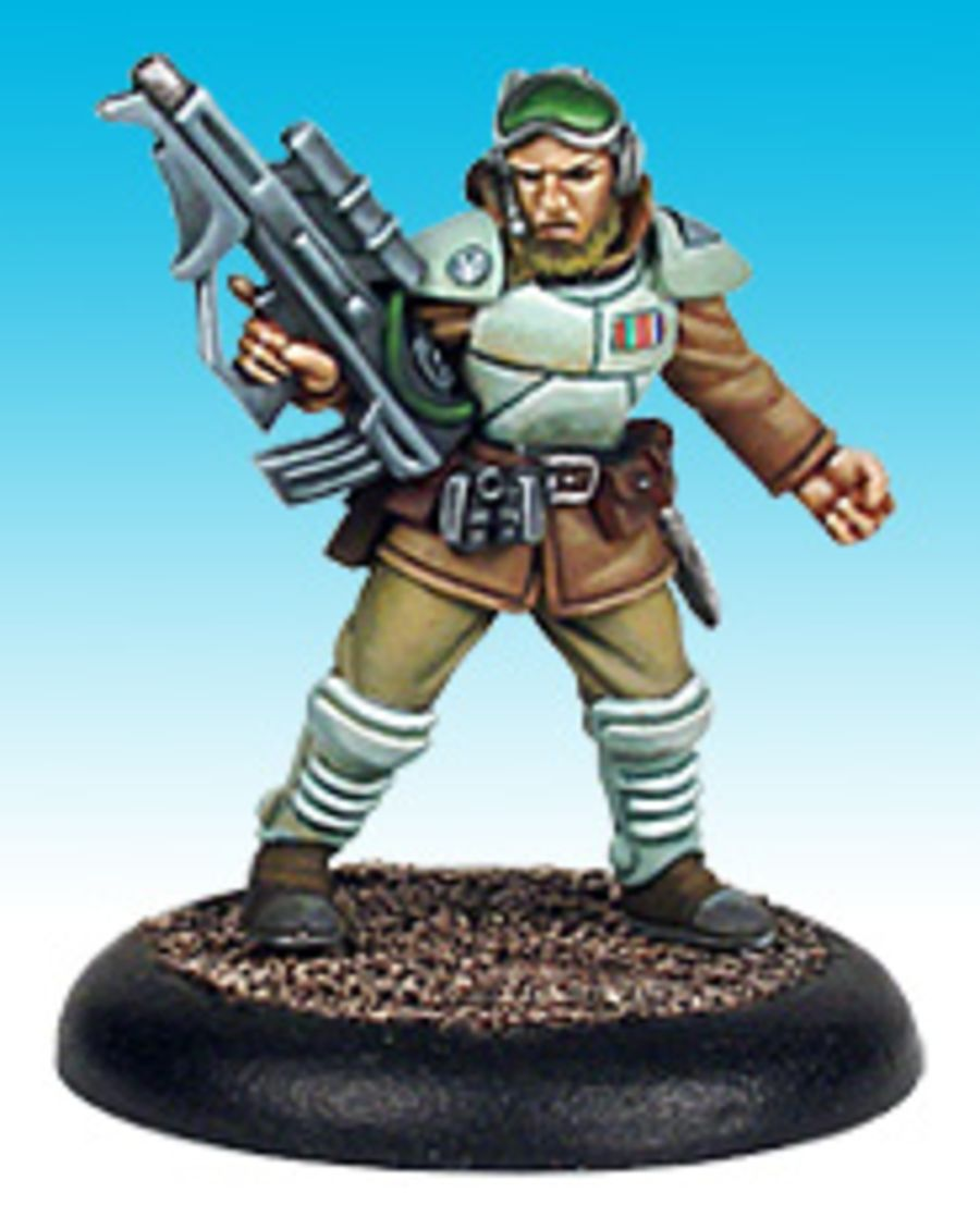 Viridian Captain Lee Hammer