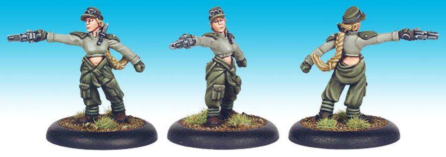 Viridian Land-Pilot (Female)