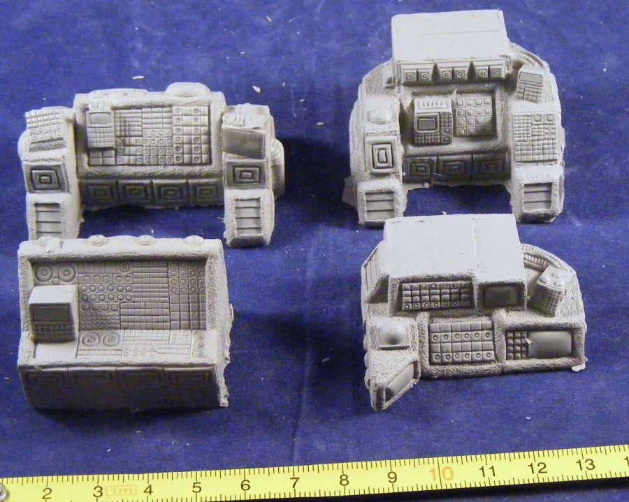 Navigation, Communication, Tactical & Command Consoles