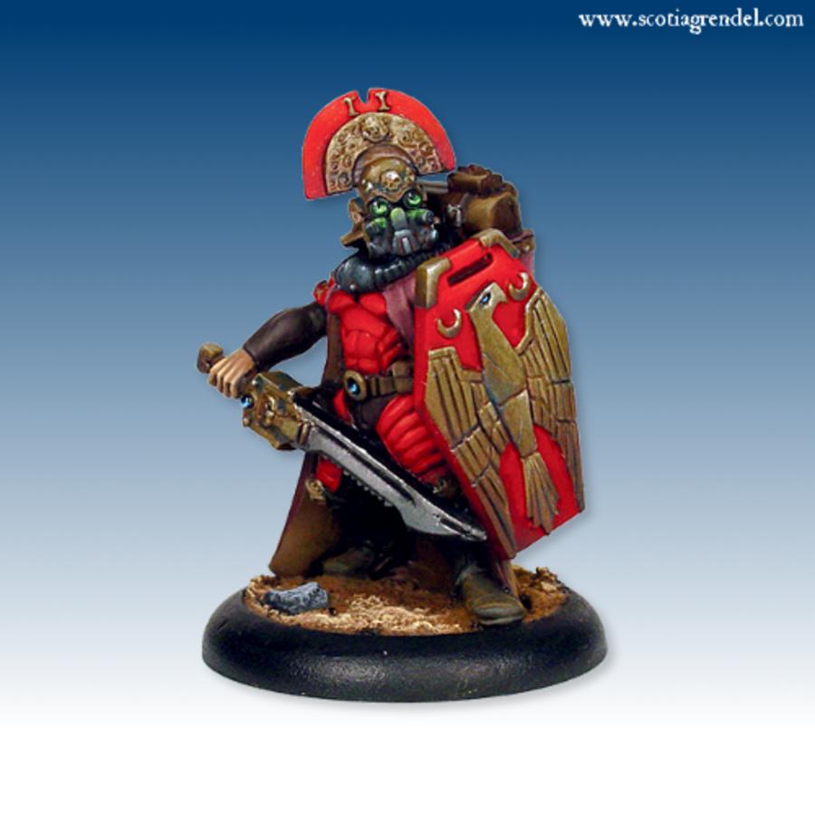 Junkers Praetorian with Sword