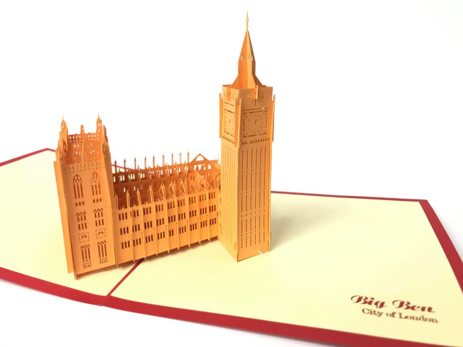 Big Ben 2 Pop Up Card