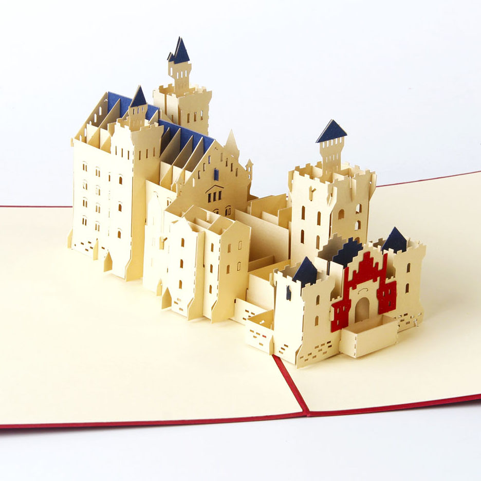 Schloss Neuschwanstein Pop Up Card