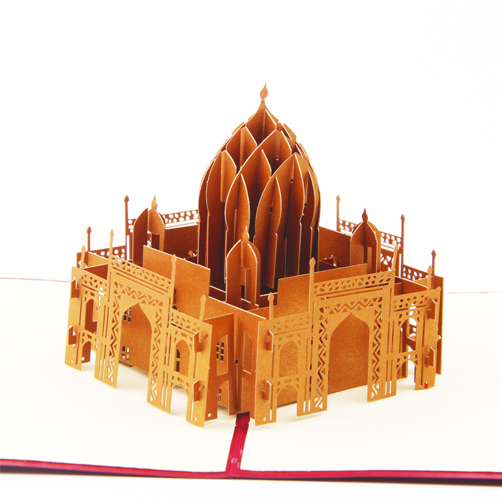 Taj Mahal Mosque Pop Up Card