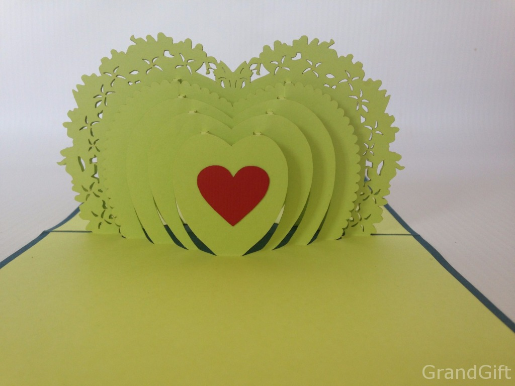 Heart To Heart 2 Pop Up Card