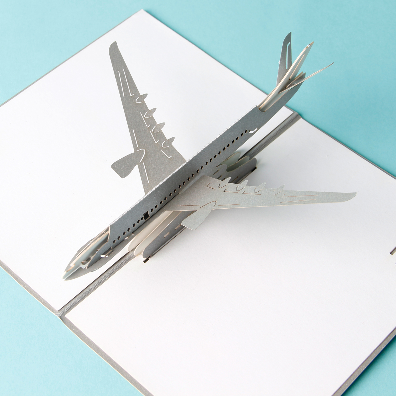 Airplane 2 Pop Up Card