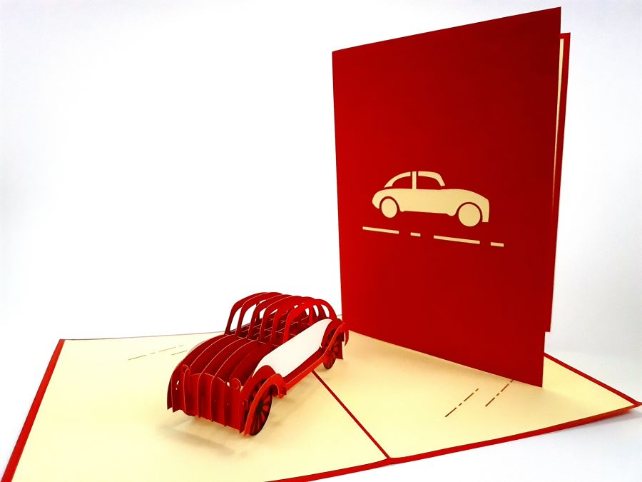 Big Beetle Pop Up Card