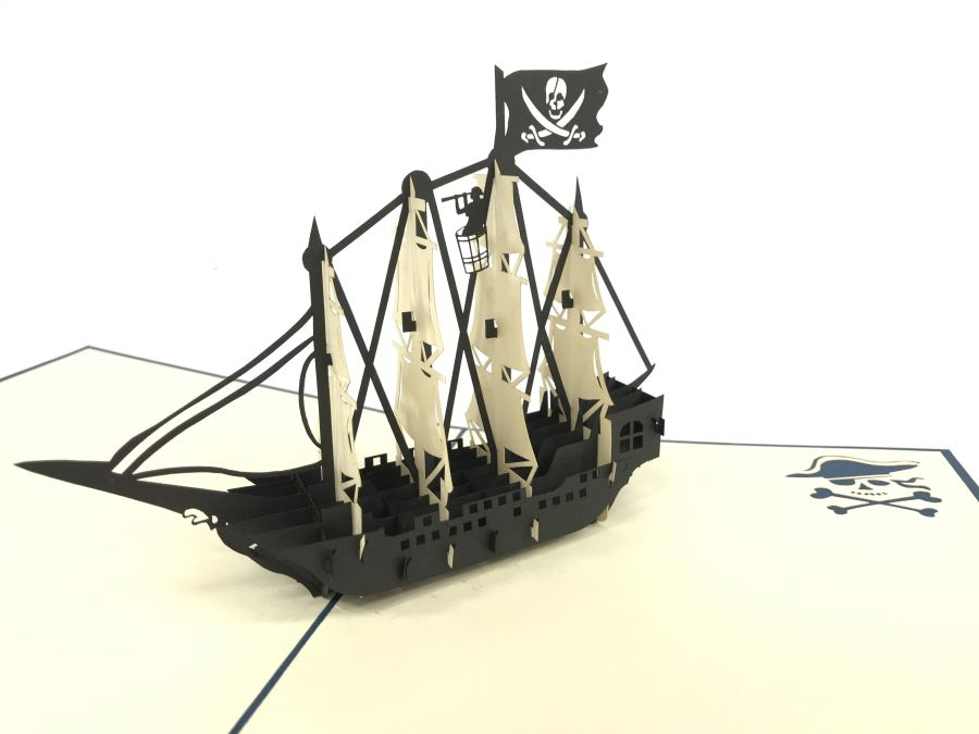 Pirate boat 2 pop up