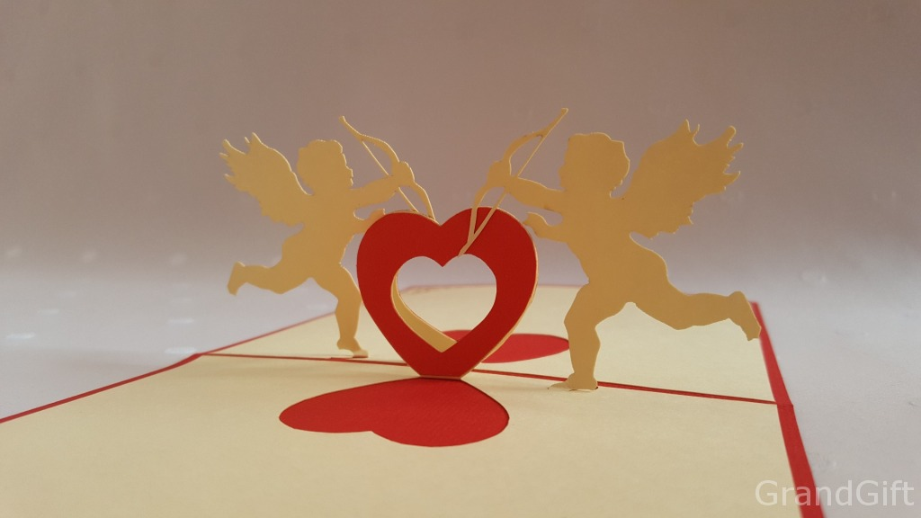 Cupids 2 Pop Up Card