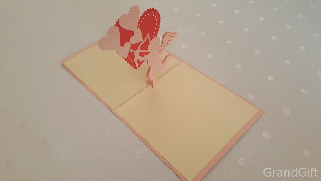 Cupids 3 Pop Up Card