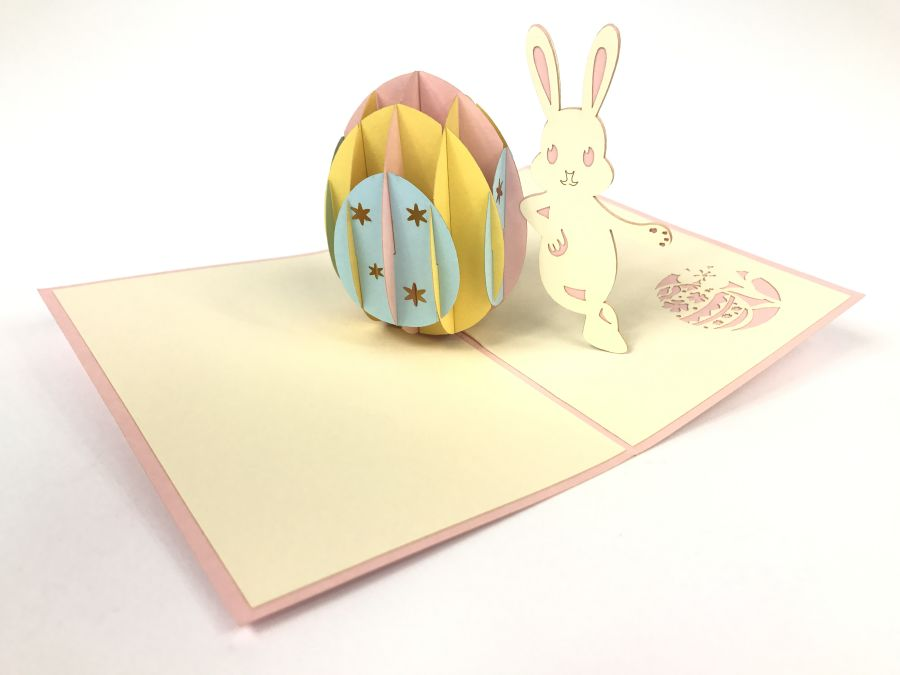 Easter Bunny Pop Up Card