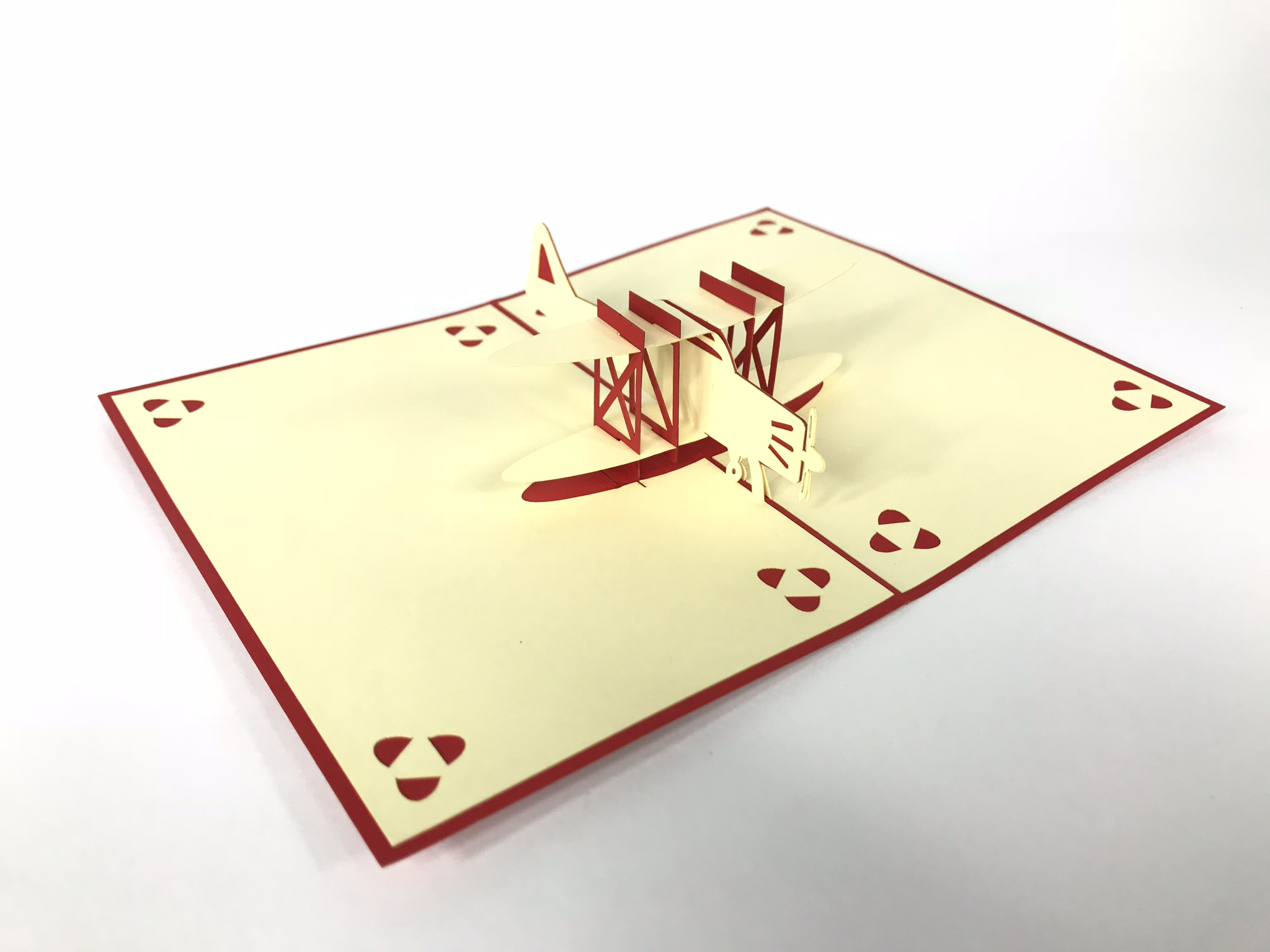 Plane Pop Up Card