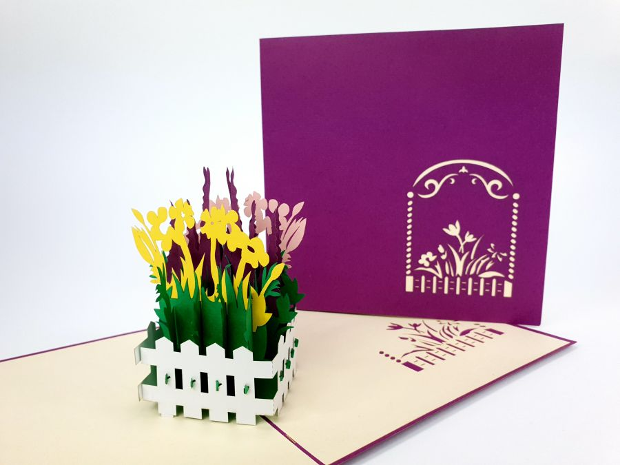 Little Garden Pop Up Card