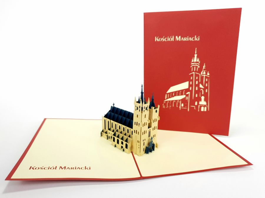 Kościół Mariacki Pop Up Card