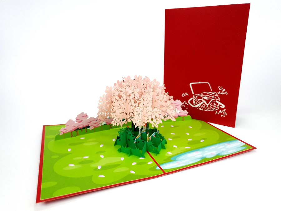 Picnic Pop Up Card