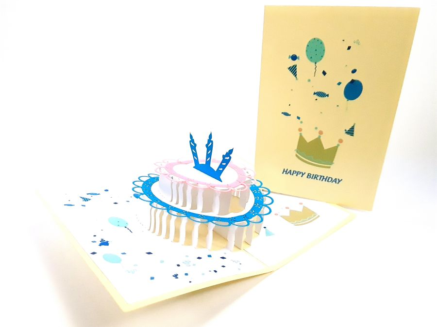 Color Cake Up Card