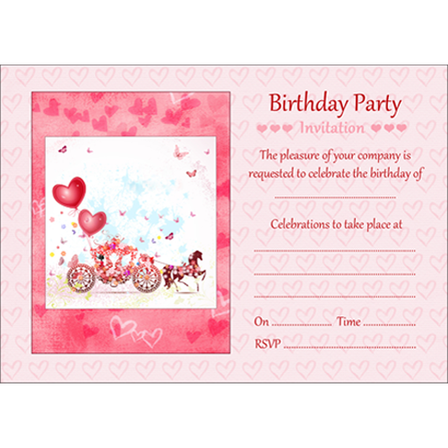 10 Birthday Invitations