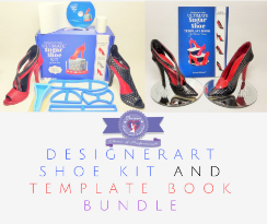 Gumpaste pastillage Shoe kit