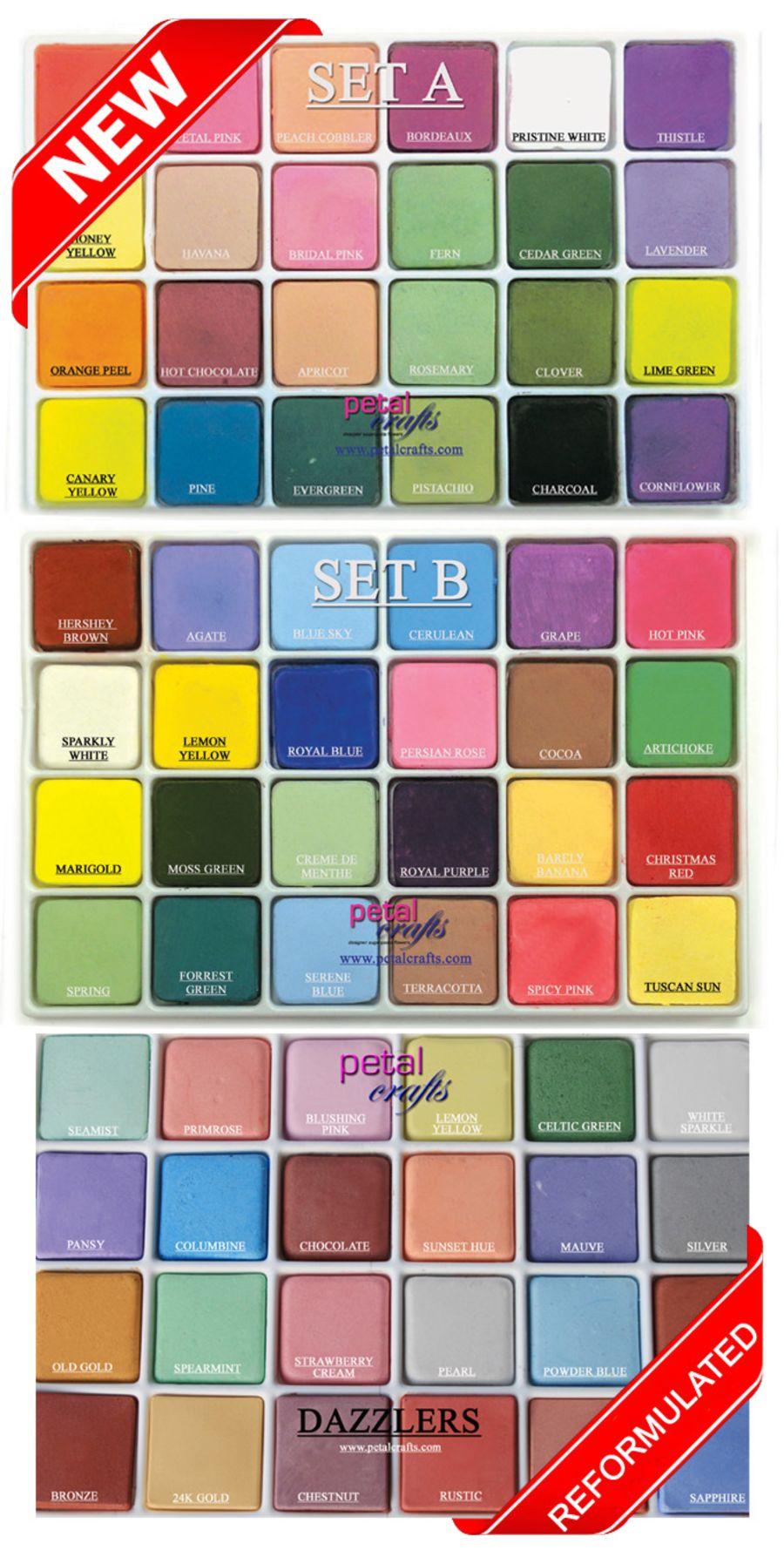 Petalcrafts Dust palette set of 72