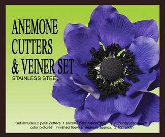 PETALCRAFTS ANEMONE cutters and veiners set