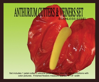PETALCRAFTS ANTHURIUM cutters and veiners set