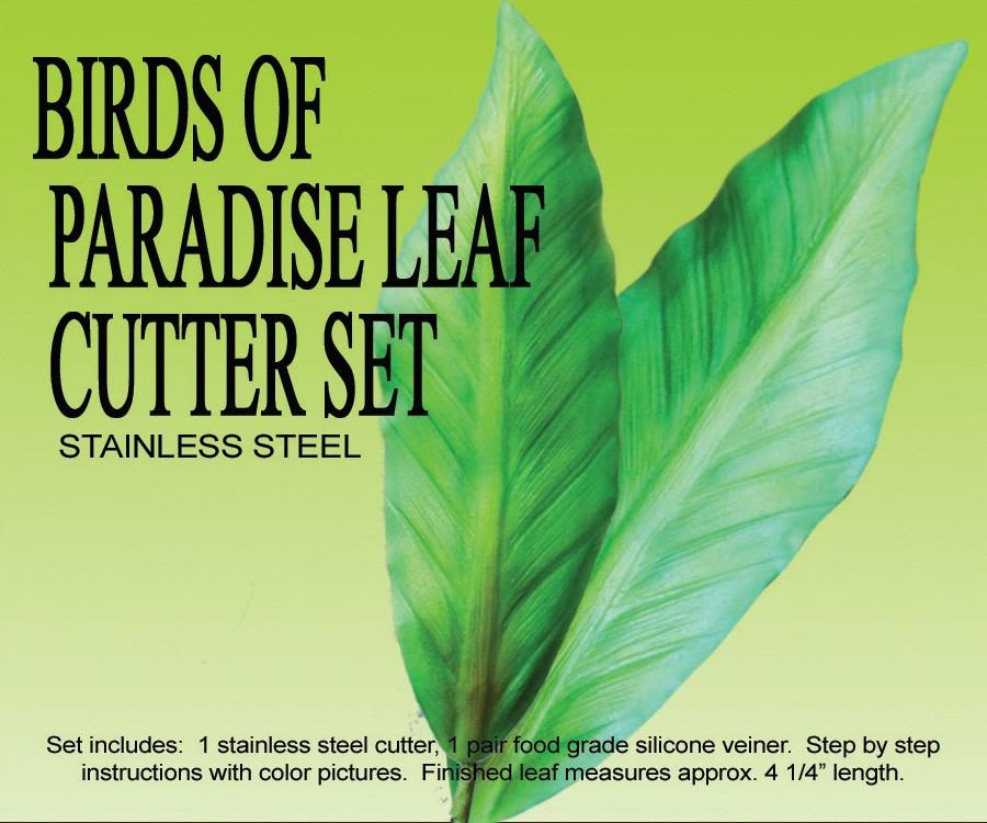 PETAL CRAFTS BIRDS OF PARADISE LEAF CUTTER AND VEINER SET