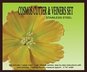 PETALCRAFT COSMOS GUMPASTE CUTTER AND VEINER SET