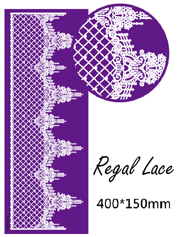 Regal Lace Mesh Stencil!!