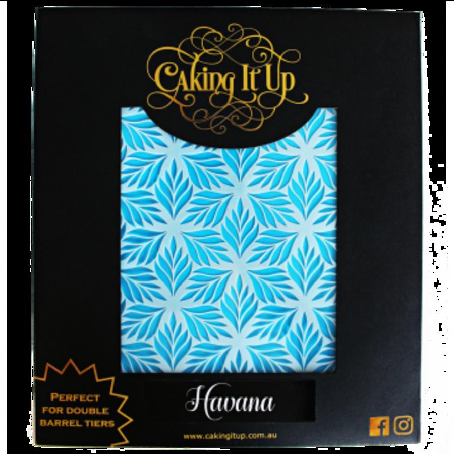 Caking It Up HAVANA - Cake Stencil by Karen Reeves