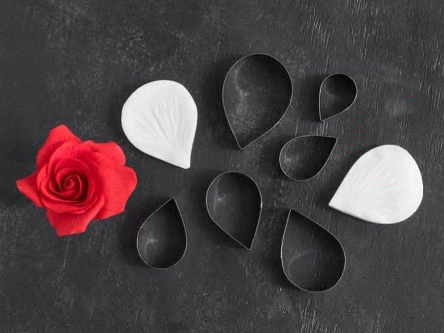 Petal Crafts Rose Cutter and Veiner Set