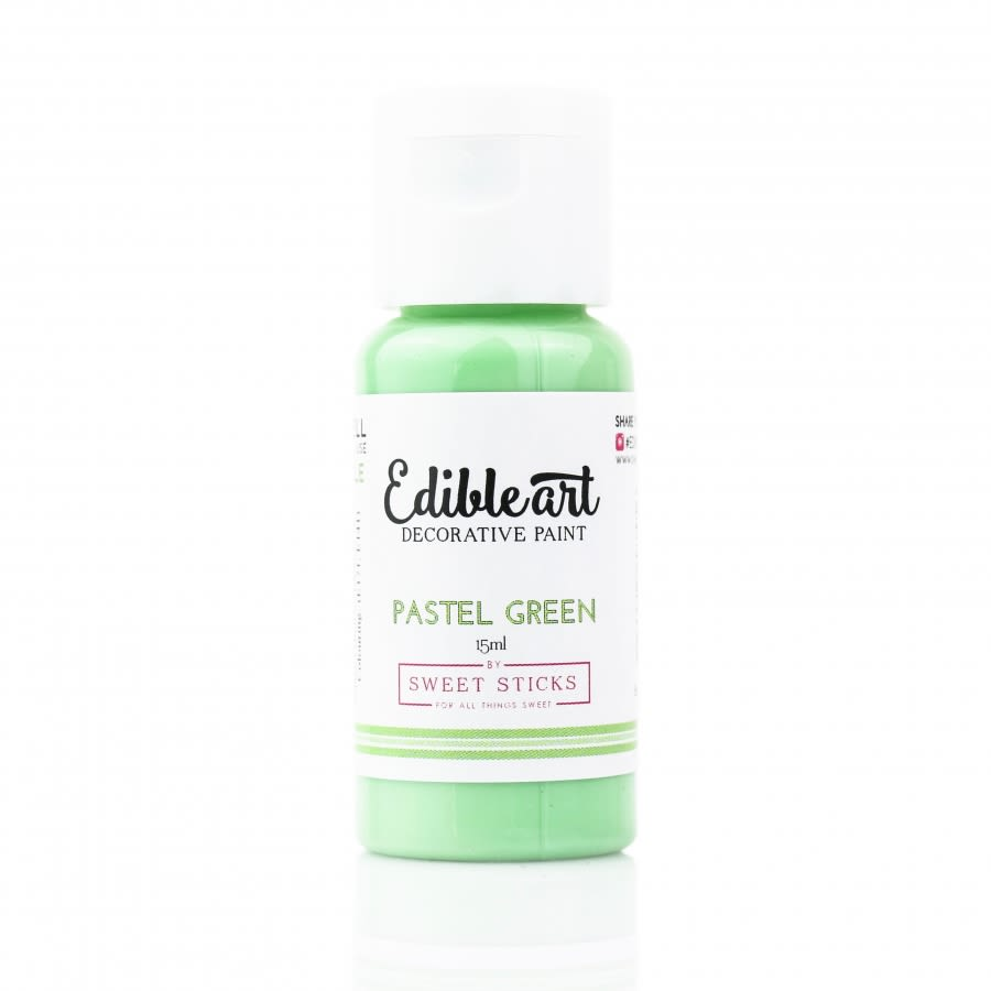 Sweet Sticks - PASTEL GREEN - Edible Art Decorative Paint 15ml