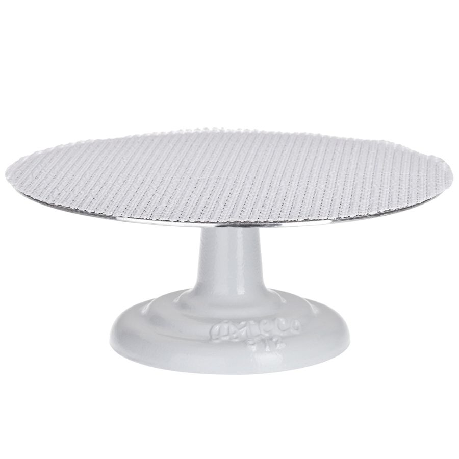 ATECO Revolving Cake Stand Turntable With Non-Slip Mat Professional