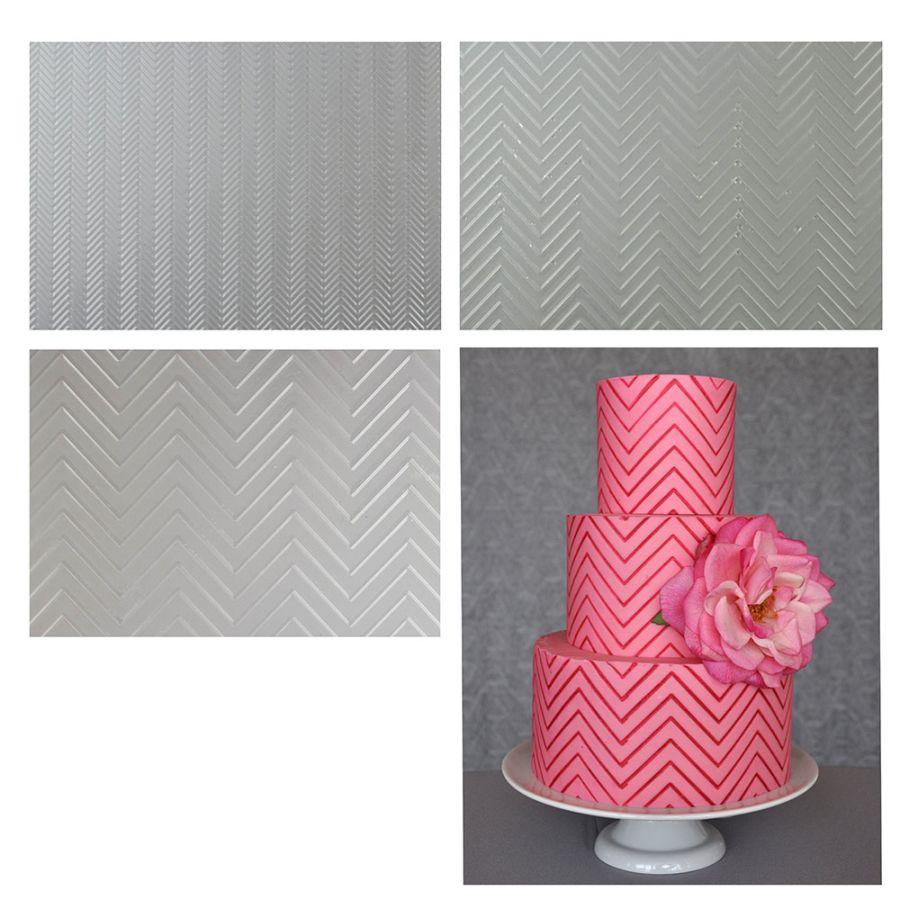 Sweet Elite Chevron Pattern Texture Sheet Set