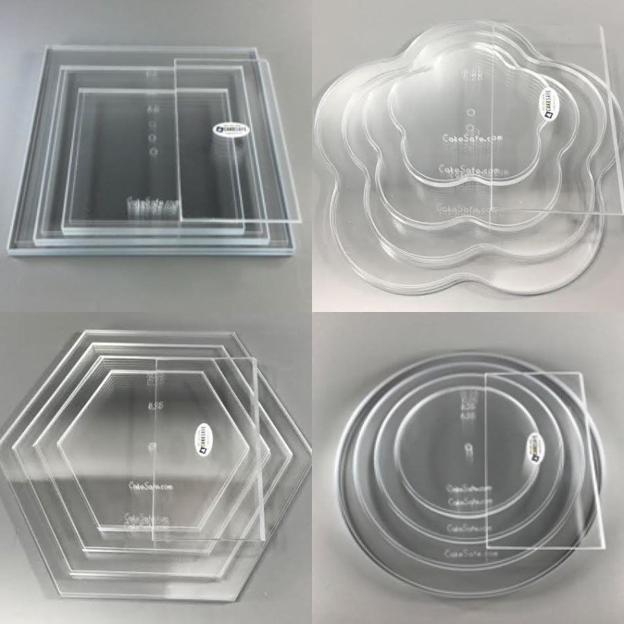 CakeSafe Acrylic Disc -  Essential Kit