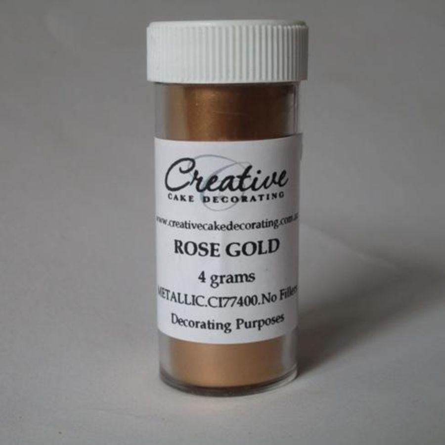 Rose Gold Metallic Lustre