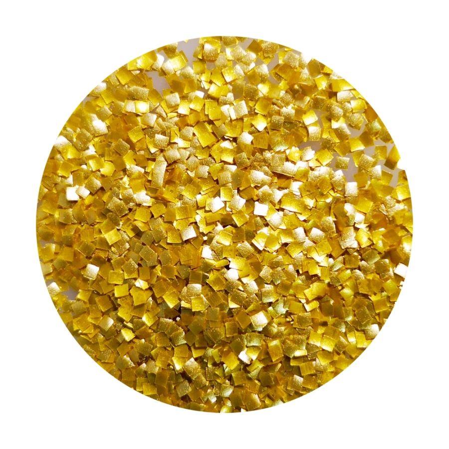 GOLD CK Glitter Squares