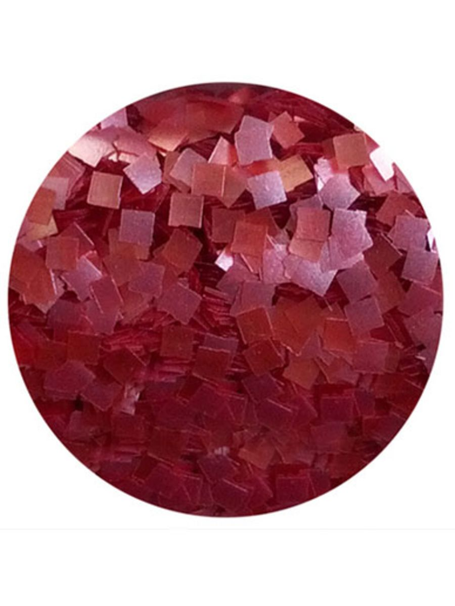RED CK Glitter Squares
