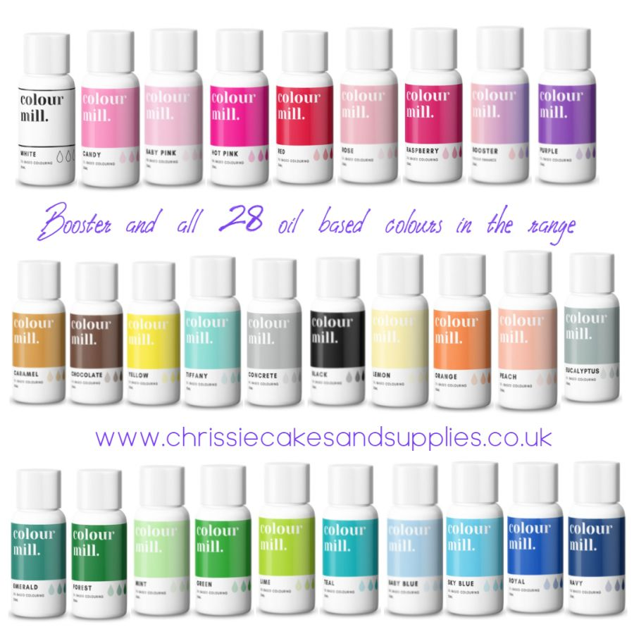 20ml Colour Mill Oil based colours - Full range of 29 bottles