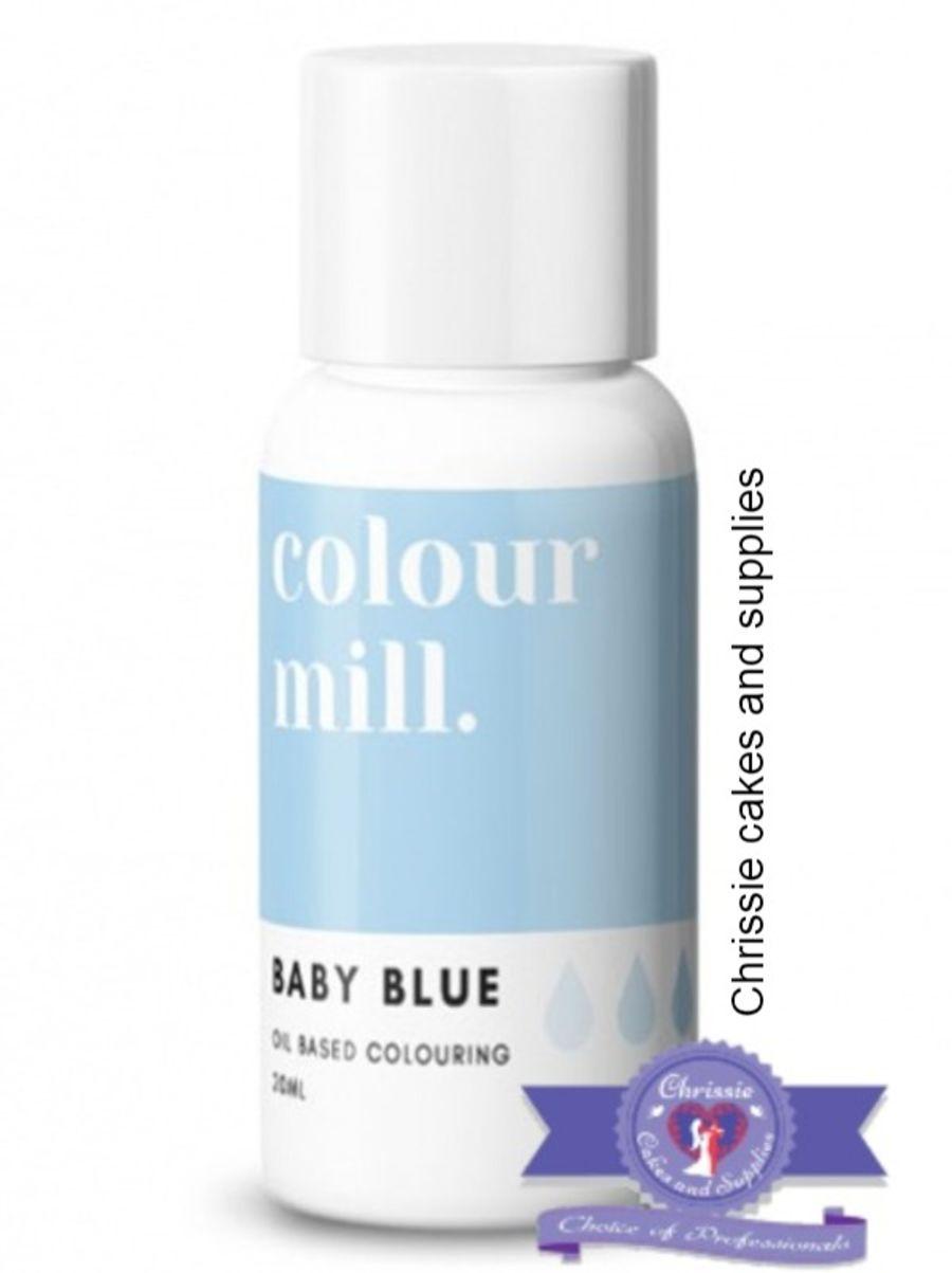 COLOUR MILL - OIL BASED COLOUR - BABY BLUE 20ML