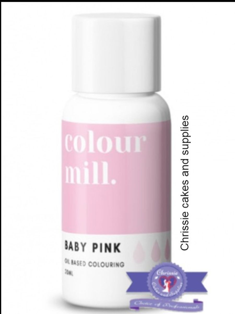 COLOUR MILL - OIL BASED COLOUR - BABY PINK 20ML